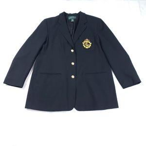 Lauren Relph Lauren Vintage 90s Big Crest Blazer